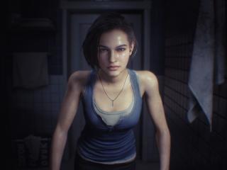 Jill Valentine Resident Evil 3 Remake wallpaper