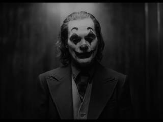 Joaquin Phoenix As Joker Monochrome wallpaper