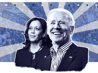 Joe Biden and Kamala Harris wallpaper