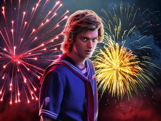 HD Wallpaper | Background Image Joe Keery Stranger Things 3