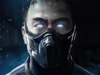Joe Taslim As Sub Zero Mortal Kombat MovieArt wallpaper