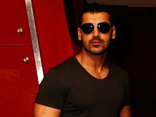 John Abraham In Specs  wallpaper