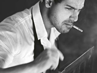 John Abraham Smoking pics wallpaper