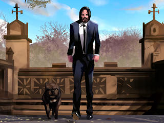 John Wick Digi Art wallpaper