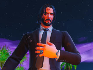 John Wick Fortnite Battle Royale wallpaper