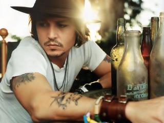 Johnny Depp Cool Look wallpaper wallpaper