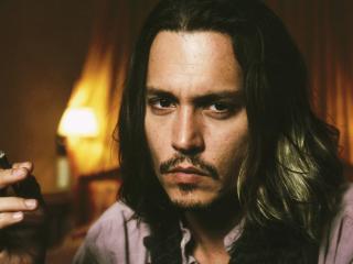 Johnny Depp Long Hair Images wallpaper