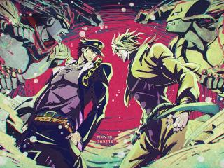 JoJo's Bizarre Adventure Stardust Crusaders wallpaper