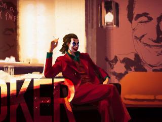 Joker Art DC wallpaper
