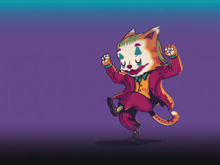 Joker Cat wallpaper