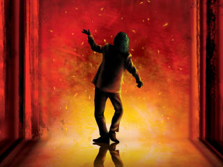Joker Dance Art wallpaper