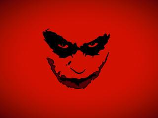 Joker Face Minimal wallpaper