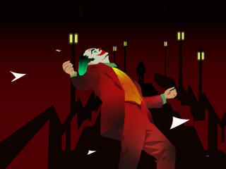 Joker Minimal Dance wallpaper