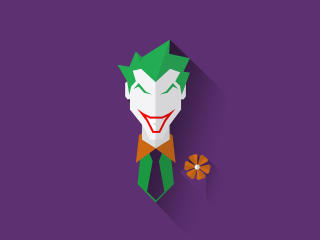 Joker Minimal wallpaper