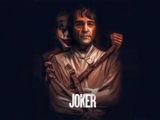 Joker Scary Poster wallpaper