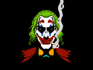 Joker Smoking wallpaper