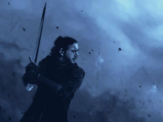 Jon Snow Game Of Thrones Art wallpaper