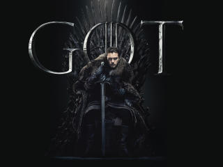 Jon Snow Game Of Thrones Season 8 Poster wallpaper