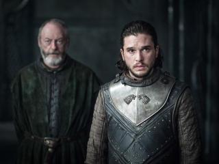 Jon Snow meets Daenerys Game Of Thrones Season 7 wallpaper