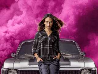 Jordana Brewster Fast And Furious 9 wallpaper