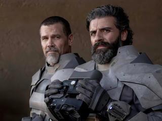 Josh Brolin and Oscar Isaac Dune wallpaper