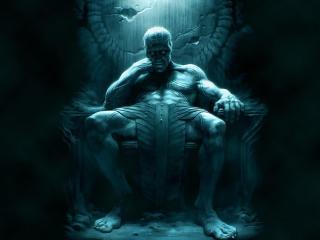 jotunheim, giant, throne wallpaper