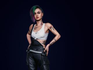Judy Alvarez Cyberpunk 2077 5K wallpaper
