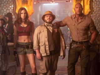HD Wallpaper | Background Image Jumanji 3 The Next Level Movie