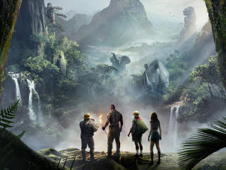 Jumanji Welcome To The Jungle Movie Poster 2017 wallpaper