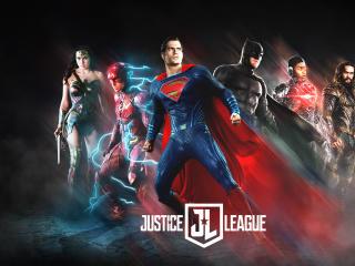 Justice League 2017 Poster Fan Art wallpaper