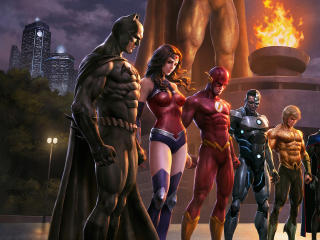 Justice League Comic wallpaper