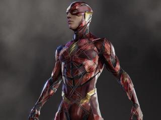 Justice League Flash Concept Art wallpaper