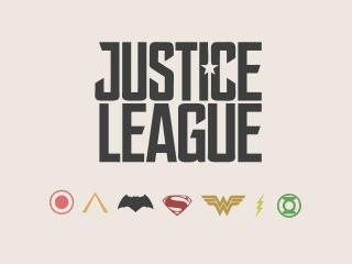 Justice League Minimal wallpaper
