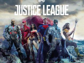 Justice League Poster Artwork wallpaper