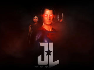 Justice League Poster Fan Art wallpaper