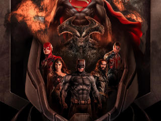 Justice League Synder Cut Fan Key Art wallpaper