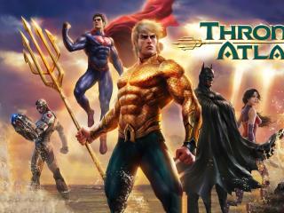 Justice League Throne Of Atlantis wallpaper