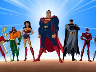 Justice League Unlimited x DCEU wallpaper
