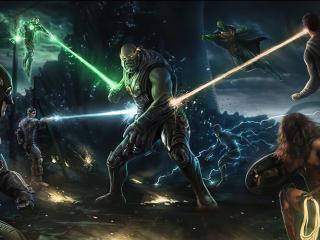 Justice League Vs Darkseid FanArt wallpaper