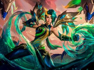 Kai'Sa Cool 4K League of Legends wallpaper