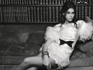 Kaia Jordan Gerber Supermodel wallpaper
