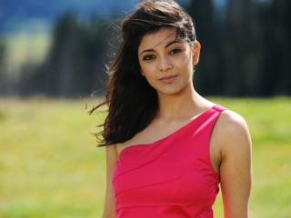 Kajal Agarwal Red Images wallpaper