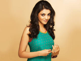 Kajal Agarwal Stunning Beauty wallpaper
