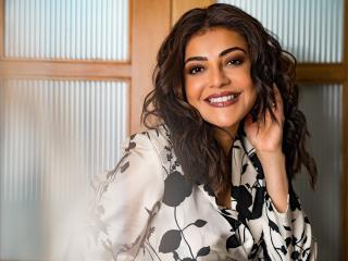Kajal Aggarwal Actress 2021 wallpaper