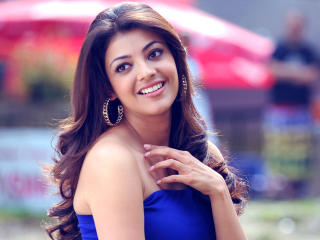 Kajal Aggarwal Smile wallpapers wallpaper