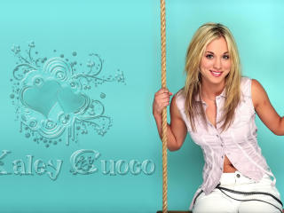 Kaley Cuoco New Images wallpaper