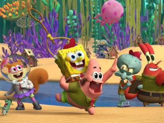 Kamp Koral SpongeBob 4K wallpaper