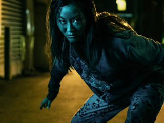 Karen Fukuhara As The Female In The Boys wallpaper