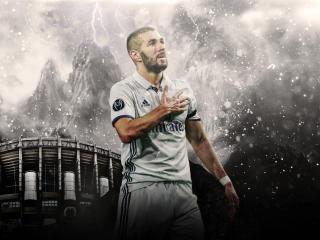 Karim Benzema Real Madrid 2021 wallpaper