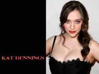 Kat Dennings Big Boobs Images wallpaper